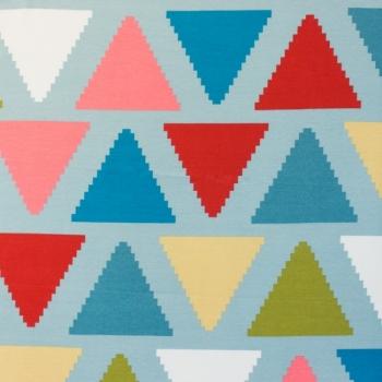 [S146R-61237] [S146R] Printed Canvas (Zigzag Triangle).jpg