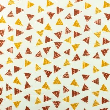 [S926R-181191] [S926R] Poplin Printed Triangle Stripe (Ochre).jpg