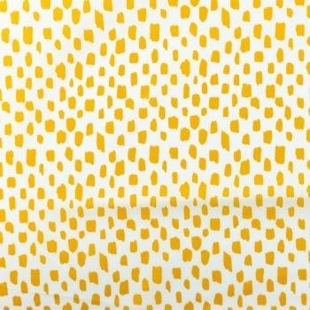 [S928R-181212] [S928R] Poplin Printed Pencil Pattern Light (Ochre).jpg