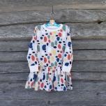 Kleit. Värvilised kivikesed