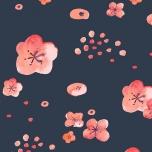 Poplin. Kirsiõied