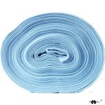 Ribbing. Light blue
