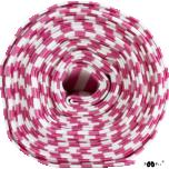 Soonikkangas. Roosa-valge triibuline