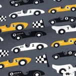 Jersey. Race cars, dark grey (last piece)