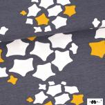 Jersey. Stars, grey