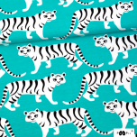 Jersey. Tigerparade, turquoise