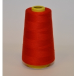Red overlock thread
