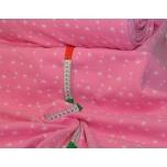 Soonikkangas roosa tähtedega