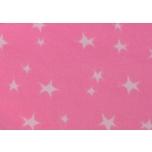 Näidis. Soonikkangas roosa tähtedega