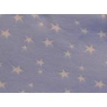 Näidis. Soonikkangas helesinine tähtedega