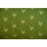 Näidis. Soonikkangas laimiroheline tähtedega